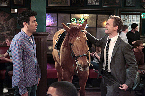 """Now We're Even"" -- Just as Ted (Josh Radnor) starts to settle into his new apartment alone, Barney (Neil Patrick Harris) tries to entice him into going out every single night on HOW I MET YOUR MOTHER."