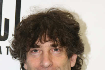 "NEW YORK - JUNE 01:  Author Neil Gaiman attends the celebration for the world premiere of the musical, ""Coraline"" at Telsey + Company Studios on June 1, 2009 in New York City.  (Photo by Neilson Barnard/Getty Images) *** Local Caption *** Neil Gaiman"