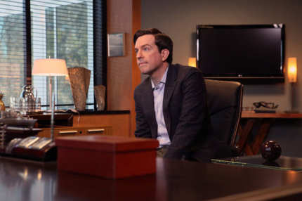 "THE OFFICE -- ""Turf War"" Episode 823 -- Pictured: Ed Helms as Andy Bernard."