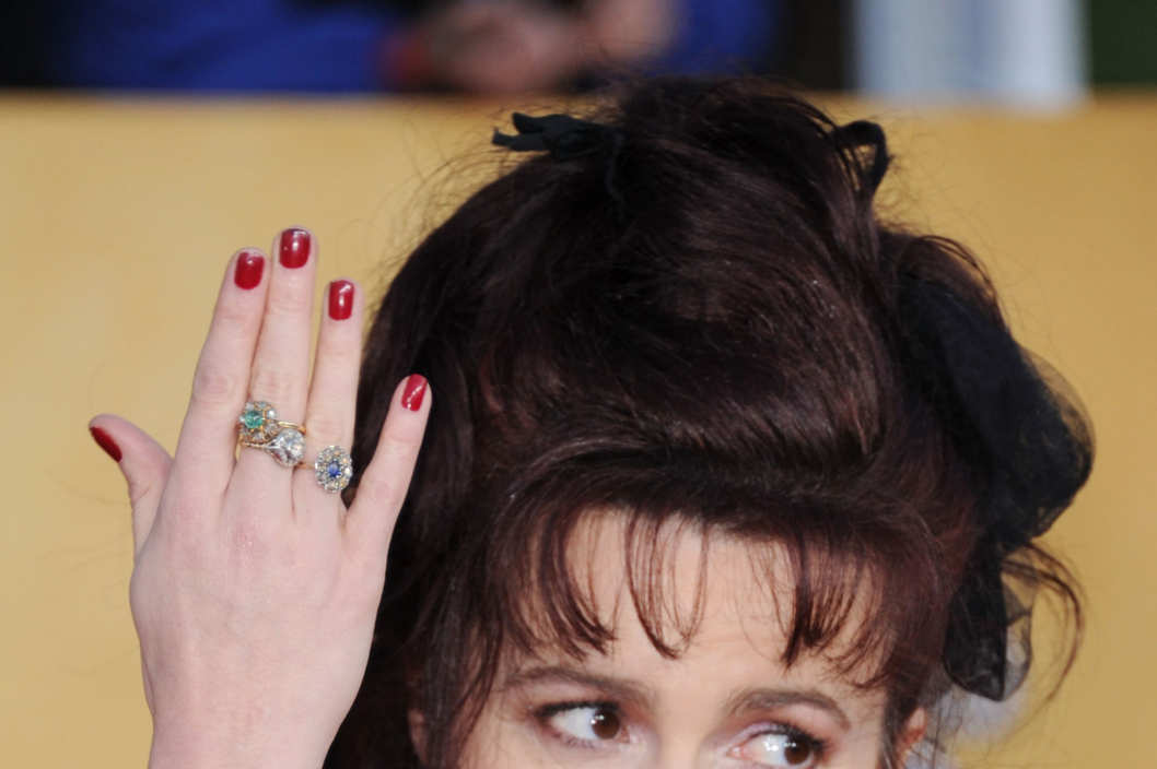 Actress Helena Bonham Carter arrives at the 17th Annual Screen Actors Guild Awards held at The Shrine Auditorium on January 30, 2011 in Los Angeles, California.