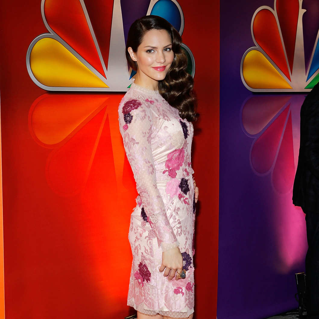 Singer Katharine McPhee attends NBC's Upfront Presentation at Radio City Music Hall on May 14, 2012 in New York City.
