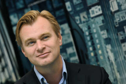 "British director Christopher Nolan poses during the photocall for his movie ""Inception"" in Rome on September 21, 2010. AFP PHOTO / ALBERTO PIZZOLI (Photo credit should read ALBERTO PIZZOLI/AFP/Getty Images)"