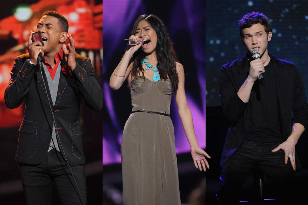 The final three contestants perform in front of the judges on AMERICAN IDOL airing Wednesday, May 16 (8:00-10:00 PM ET/PT) on FOX.