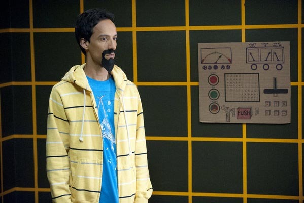 "COMMUNITY -- ""Introduction to Finality"" Episode 321 -- Pictured: Danny Pudi as Abed."