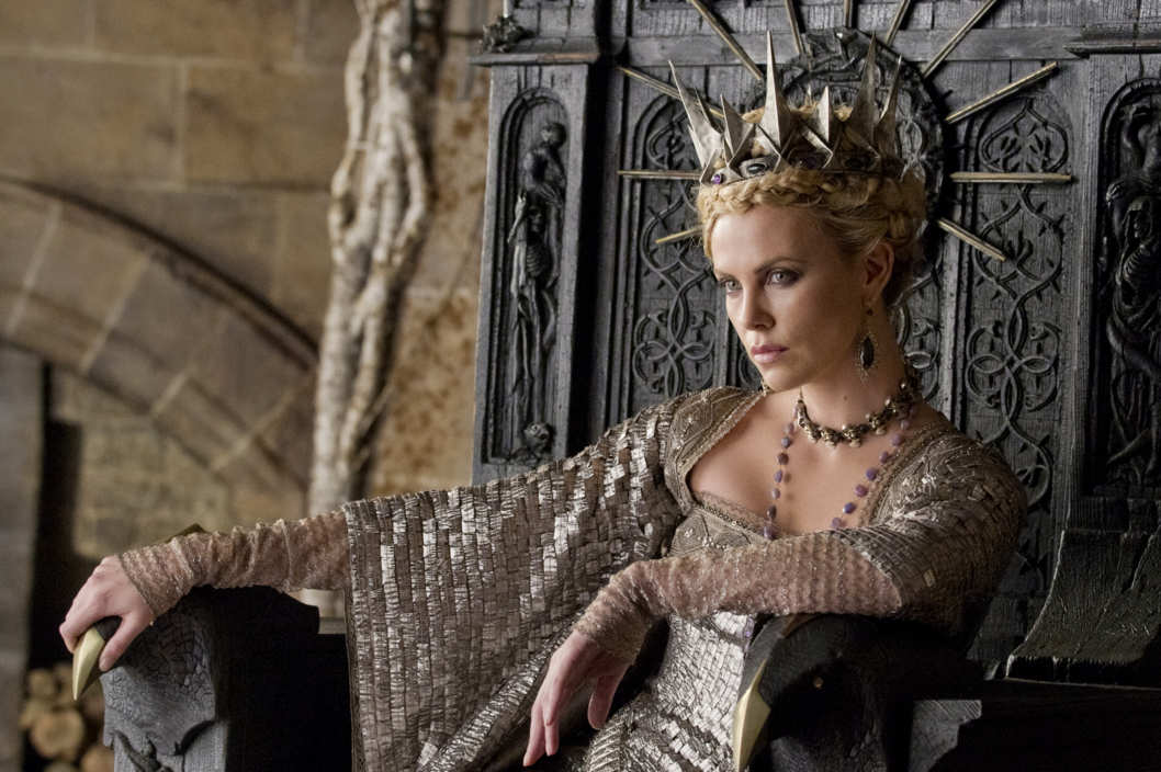 "Oscar winner CHARLIZE THERON is the Queen in the epic action-adventure ""Snow White and the Huntsman"""
