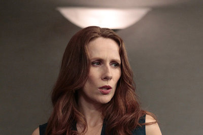 "THE OFFICE -- ""Tallahassee"" Episode 815 -- Pictured: Catherine Tate as Nelly Bertrum"
