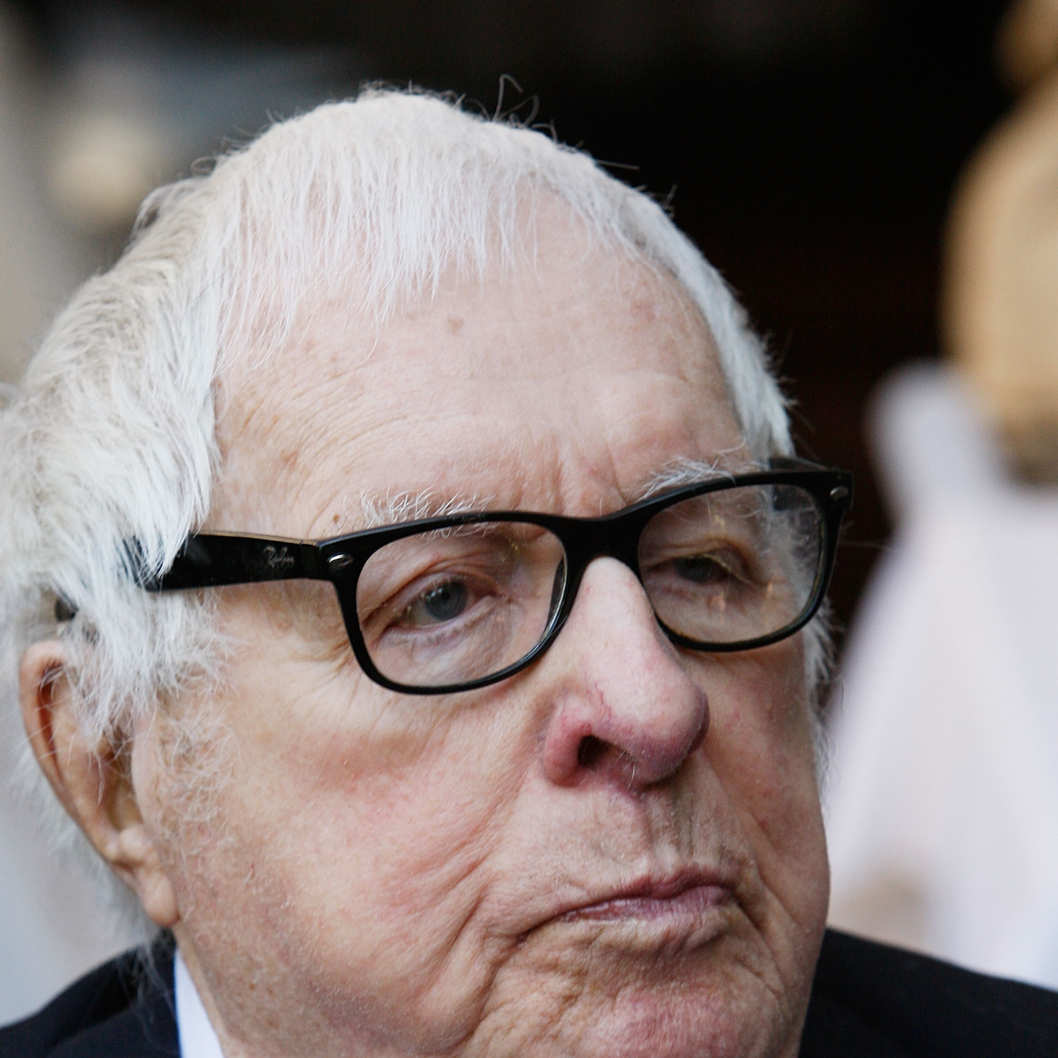 "Legendary science fiction author Ray Bradbury attends a luncheon celebrating the Golden Globe nominated Best Foreign Language Film (France) ""I've Loved You So Long"" at the residence of The Consul General of France-Los Angeles on January 9, 2009 in Beverly Hills, California."