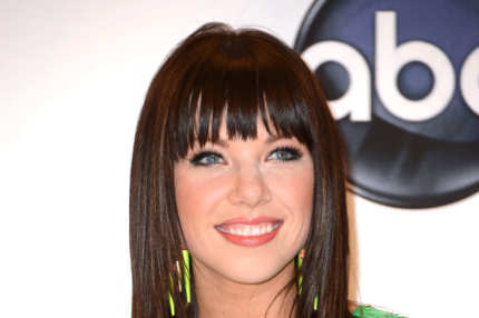 Performer Carly Rae Jepsen poses in the press room at the 2012 Billboard Music Awards