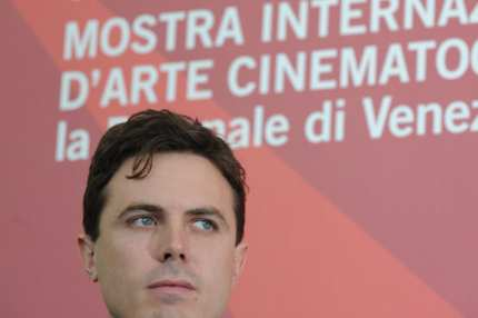 "US actor Casey Affleck poses during the photocall of ""I'm still here"" at the 67th Venice Film Festival on September 6, 2010 at Venice Lido. ""I'm still here"" is presented out of competition."