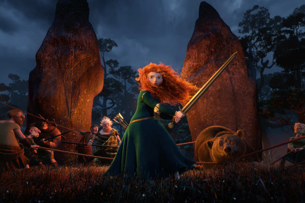 """BRAVE""  (Pictured) MERIDA."