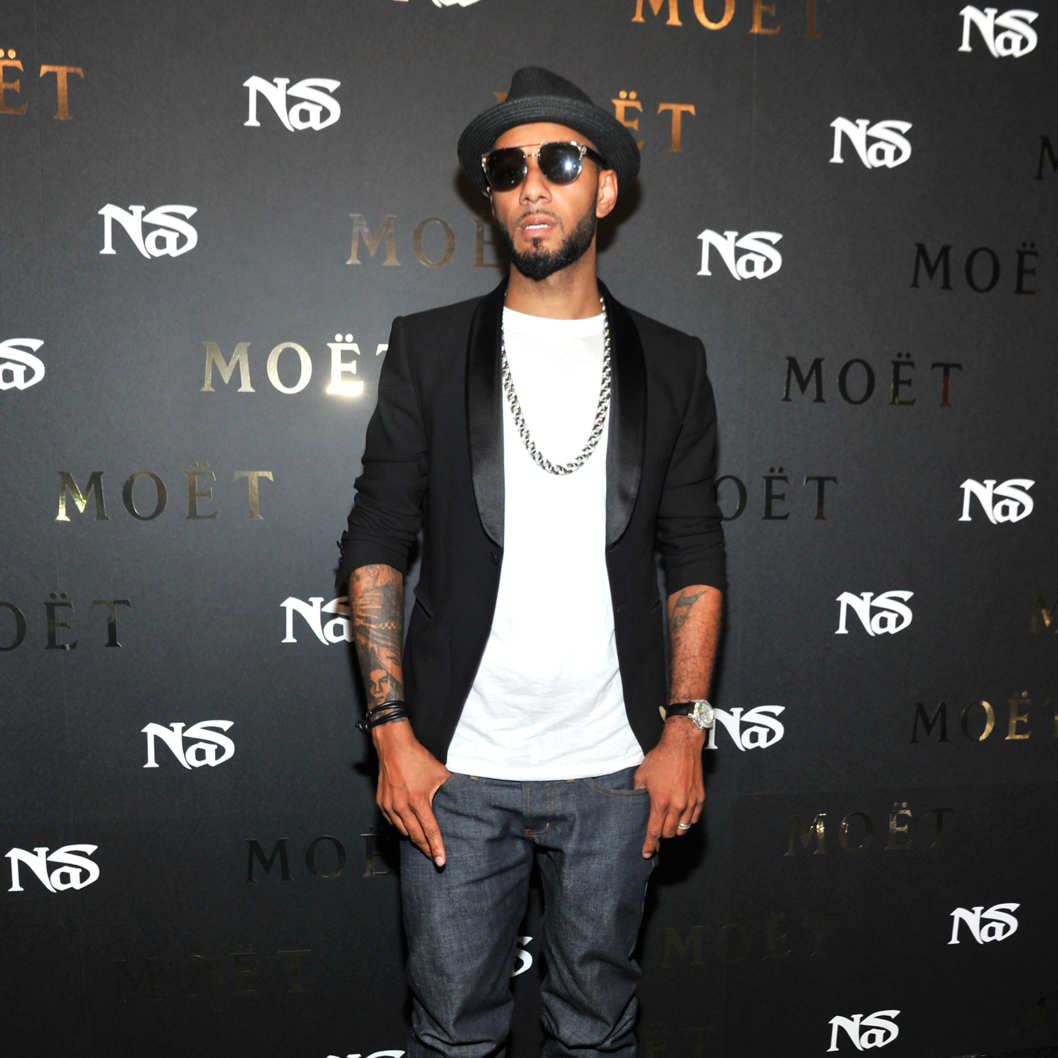 Swizz Beatz attends Moet Rose Lounge Presents Nas' Life Is Good at Bagatelle on July 17, 2012 in New York City.