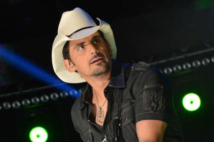 Brad Paisley performs during the 2012 CMA Music Festival - Day 1 at LP Field on June 7, 2012 in Nashville, Tennessee.