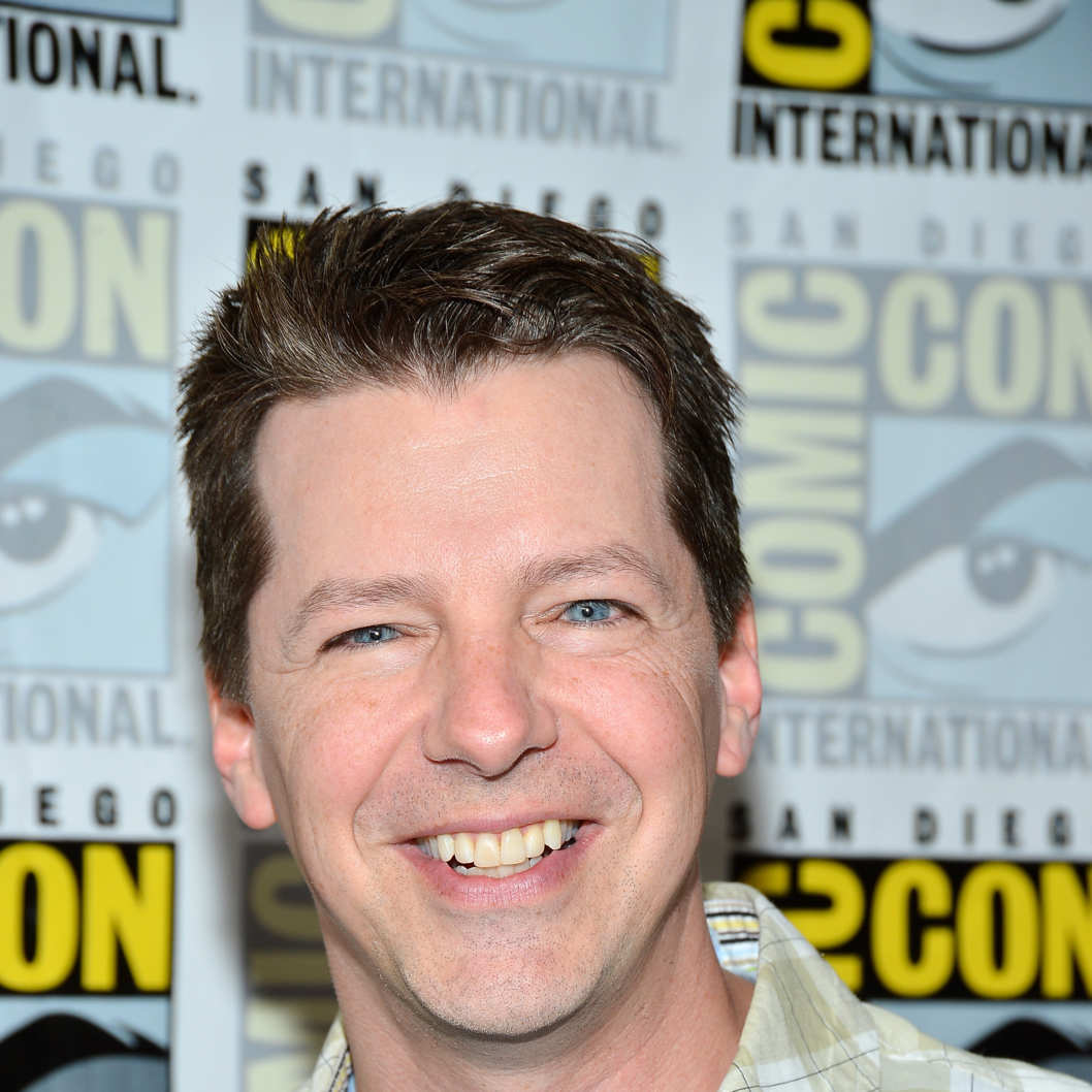 "Sean Hayes attends the ""GRIMM"" Press Room during Comic-Con International 2012 held at the Hilton San Diego Bayfront Hotel on July 14, 2012 in San Diego, California."