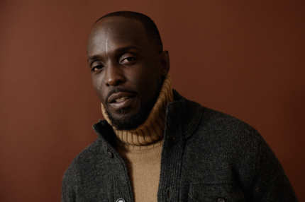 PARK CITY, UT - JANUARY 23:  Actor Michael Kenneth Williams poses for a portrait during the 2012 Sundance Film Festival at the Getty Images Portrait Studio at T-Mobile Village at the Lift on January 23, 2012 in Park City, Utah.  (Photo by Larry Busacca/Getty Images)