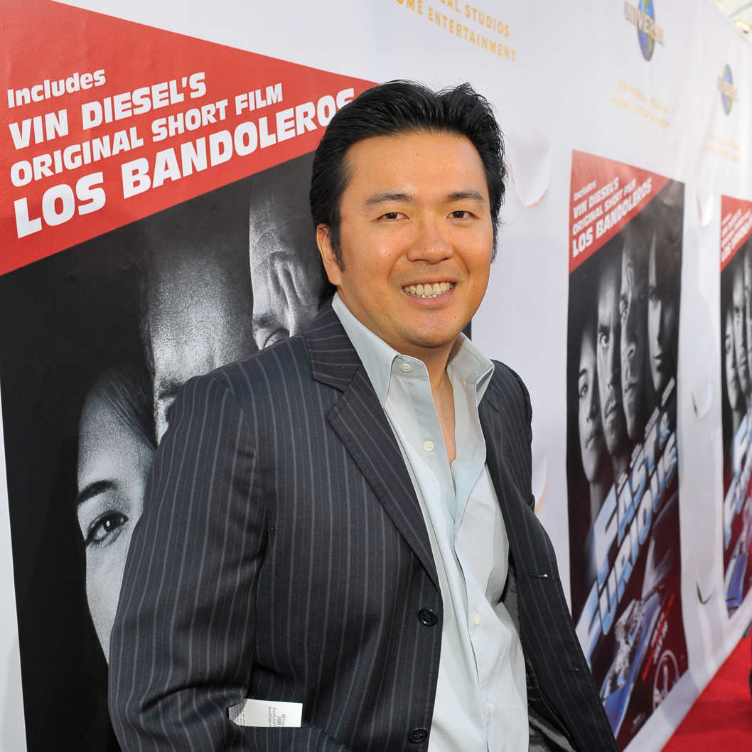 "Director Justin Lin arrives at the premiere of Universal Studios Home Entertainment's ""Los Bandoleros"" at Universal CityWalk on July 16, 2009 in Universal City, California."