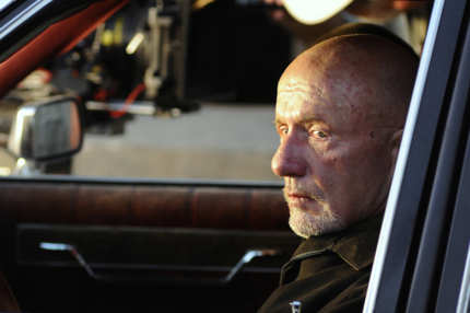 Mike (Jonathan Banks) - Breaking Bad - Season 4, Episode 5 - Photo Credit Ursula Coyote/AMC - BBEpisode405Day8(CamB1)-146