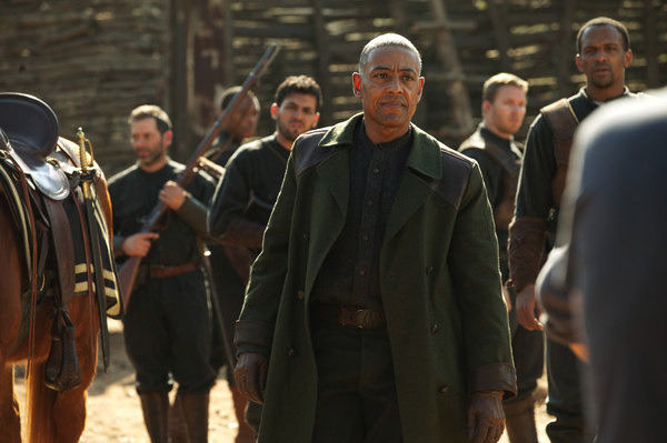 REVOLUTION - Giancarlo Esposito as Lt. Neville