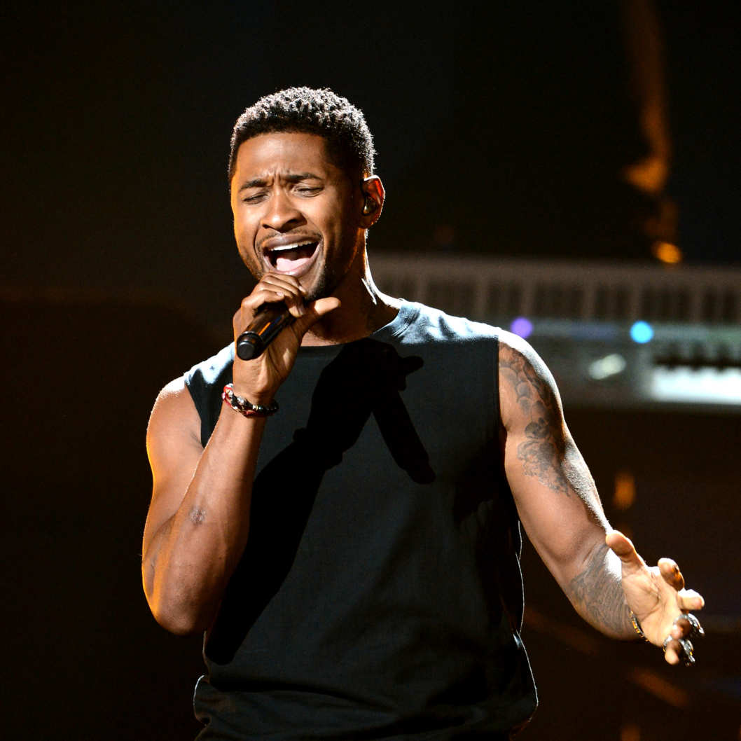 Recording Artist Usher performs onstage during the 2012 BET Awards at The Shrine Auditorium on July 1, 2012 in Los Angeles, California.