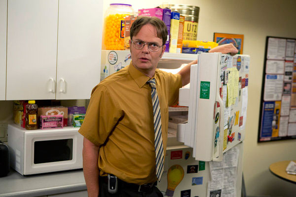 "THE OFFICE -- ""New Guys"" Episode 901 -- Pictured: Rainn Wilson as Dwight Schrute."