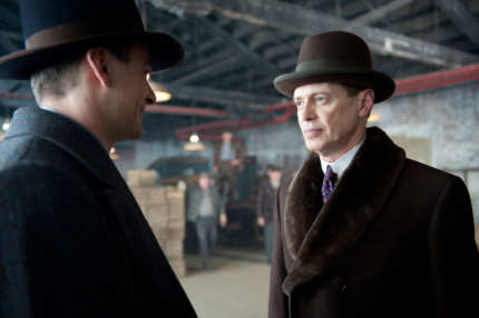 BOARDWALK EMPIRE episode 28 (season 3, episode 4): Charlie Cox, Steve Buscemi.