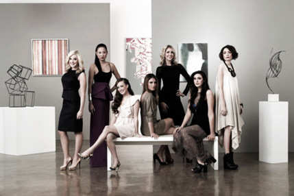 GALLERY GIRLS -- Season:1 -- Pictured: (l-r) Amy Poliakoff, Angela Pham, Maggie Schaffer, Liz Margulies, Kerri Lisa, Claudia Martinez, Chantal Chadwick