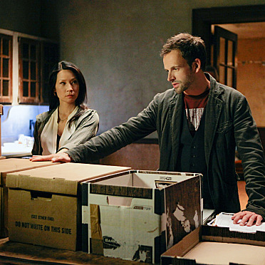 "Sherlock (Jonny Lee Miller) and Joan Lucy Liu) consults on child abduction case and tries to find a serial killer who is nicknamed ""œThe Balloon Man"" because he leaves a signature batch of balloons at each of his crime scenes on ELEMENTARY."