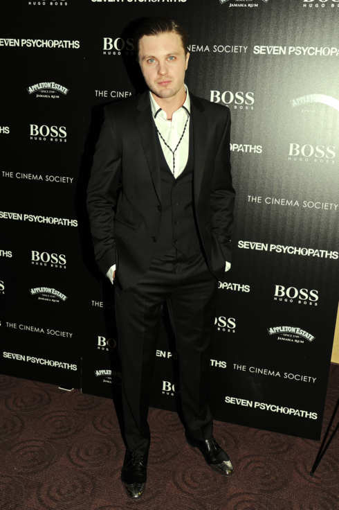 "Michael Pitt - THE CINEMA SOCIETY with HUGO BOSS and APPLETON ESTATE host a screening of ""SEVEN PSYCHOPATHS"""