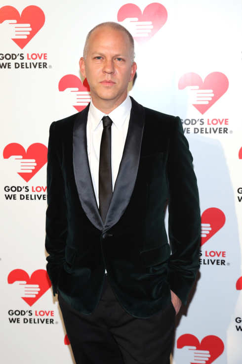 Ryan Murphy attends the Michael Kors- Golden Heart Gala at Cunard Building on October 15, 2012 in New York City.