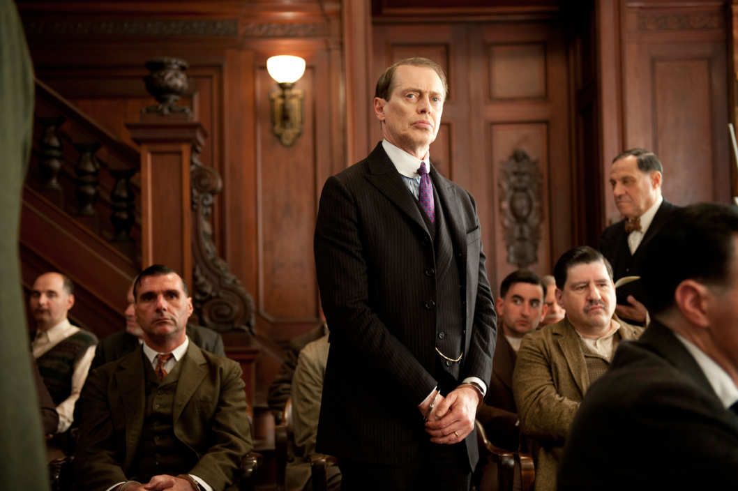 BOARDWALK EMPIRE episode 30 (season 3, episode 6): Steve Bucemi.