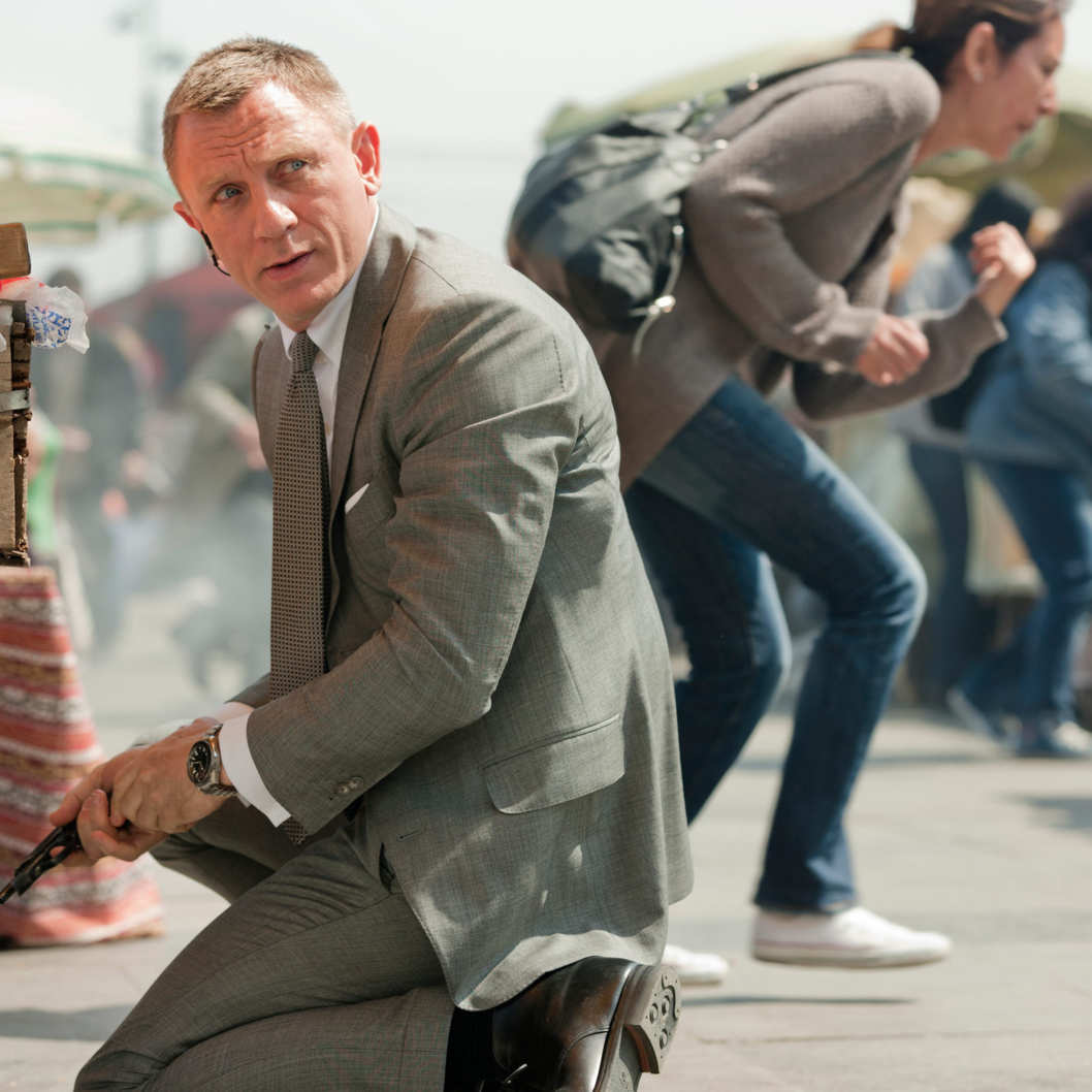 Daniel Craig stars as James Bond in Metro-Goldwyn-Mayer Pictures/Columbia Pictures/EON Productions? action adventure SKYFALL.