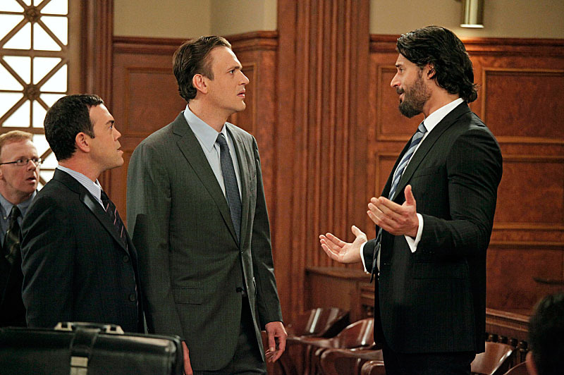 """Twelve Horny Women"" -- Joe Manganiello Returns as Brad, Marshall's (Jason Segel) friend from Law School, and Joe Lo Truglio guest stars as Honeywell, Marshall's boss, on HOW I MET YOUR MOTHER, Monday, Nov. 26 (8:00-8:30 PM, ET/PT) on CBS"