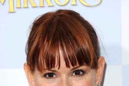 Actress Molly Ringwald attends the 'Mirror Mirror' premiere at Grauman's Chinese Theatre on March 17, 2012 in Hollywood, California.