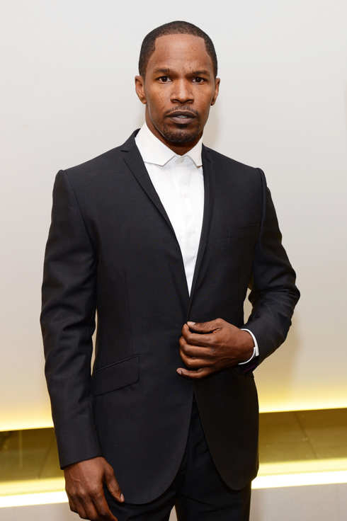 "Actor Jamie Foxx attends the Los Angeles Premiere of ""A Man's Story"" at WME Screening Room on November 1, 2012 in Los Angeles, California."