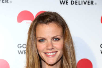 Model Brooklyn Decker attends the Michael Kors- Golden Heart Gala at Cunard Building on October 15, 2012 in New York City.