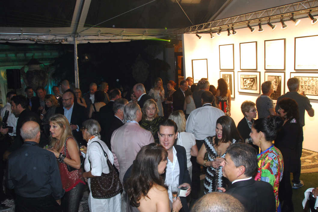Atmosphere== ANDY WARHOL Museum and Private Art Basel Party== Versace Mansion, Miami Beach, FL==