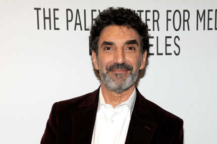 "Creator/Executive producer Chuck Lorre attends The Paley Center For Media's PaleyFest 2012 Honoring ""Two And A Half Men"" at Saban Theatre on March 12, 2012 in Beverly Hills, California."