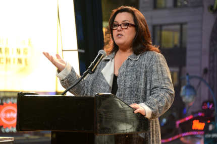 Rosie O'Donnell speaks at The American Fertility Association's Illuminations NYC 2012 on December 3, 2012 in New York City.