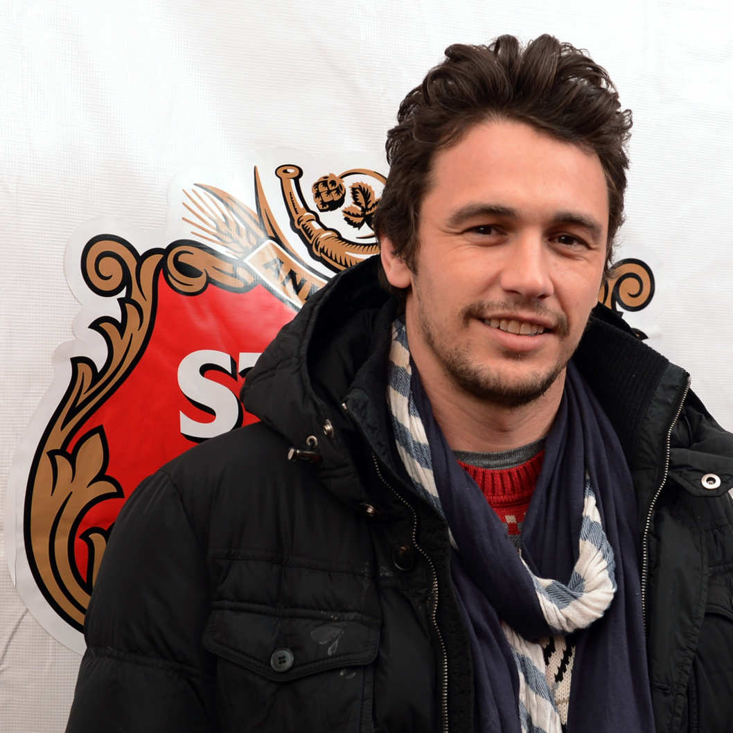 Actor James Franco attends the press dinner for James Franco hosted by Stella Artois at the Stella Artois Cafe at Village at The Lift on January 19, 2013 in Park City, Utah.