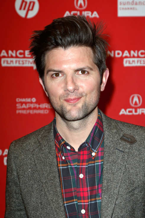 "Actor Adam Scott attends the ""A.C.O.D"" Premiere during the 2013 Sundance Film Festival at Eccles Center Theatre on January 23, 2013 in Park City, Utah."