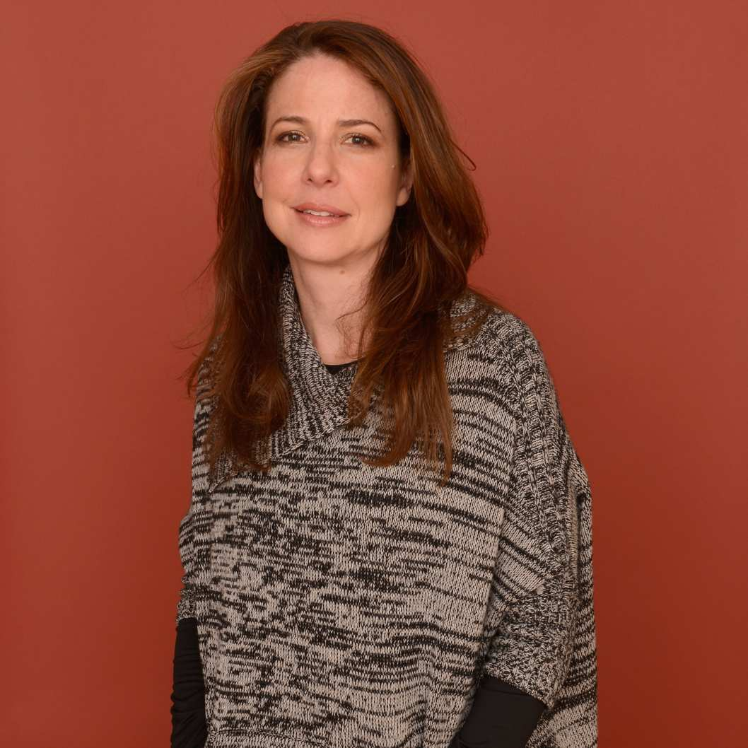 PARK CITY, UT - JANUARY 19:  Actress Robin Weigert poses for a portrait during the 2013 Sundance Film Festival at the Getty Images Portrait Studio at Village at the Lift on January 19, 2013 in Park City, Utah.  (Photo by Larry Busacca/Getty Images)