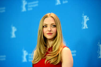 US actress Amanda Seyfried poses at a photocall for the film 'Lovelace' during the 63rd Berlin International Film Festival, in Berlin, Germany, on February 9, 2013.