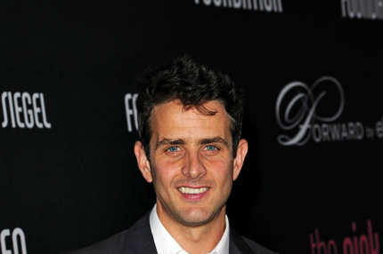 Actor Joey McIntyre arrives at Elyse Walker presents the 8th annual Pink Party hosted by Michelle Pfeiffer to benefit Cedars-Sinai Women's Cancer Program held at HANGAR:8 on October 27, 2012 in Santa Monica, California.
