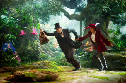 """OZ: THE GREAT AND POWERFUL"" - James Franco, left; Mila Kunis, right"