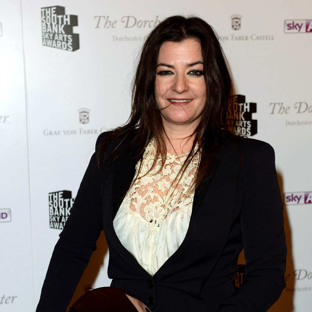 Director Lynne Ramsay winner of the film award, poses during the South Bank Sky Arts Awards at Dorchester Hotel on May 1, 2012 in London, England.
