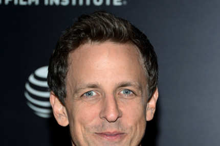 "Seth Meyers attends the Tribeca Film Institute Benefit Screening Of ""Skyfall"" at Ziegfeld Theater on November 5, 2012 in New York City."