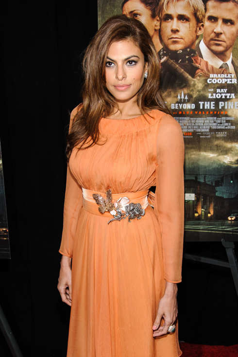Eva Mendes. 'The Place Beyond The Pines' New York Premiere.