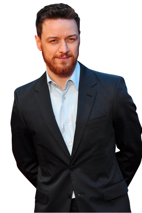 "Scottish actor James McAvoy poses for pictures on the red carpet as he arrives to attend the world premiere of his latest film ""Trance"" in central London on March 19, 2013."