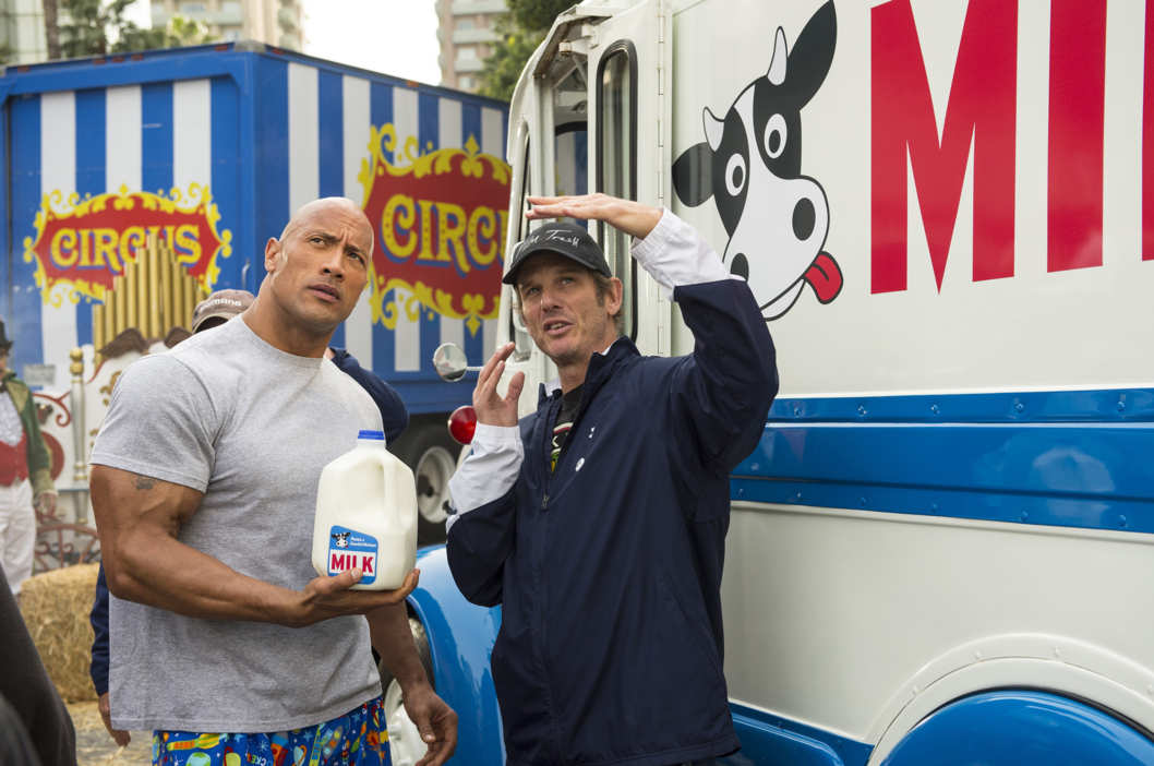 Dwayne 'The Rock' Johnson stars in the Got Milk? campaign's first ever Super Bowl ad. The 30-second commercial, which was directed by Peter Berg, will air in the second quarter of the game on February 3, 2013.