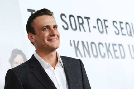 "HOLLYWOOD, CA - DECEMBER 12:  Actor Jason Segel  attends the premiere of Universal Pictures' ""This Is 40"" at Grauman's Chinese Theatre on December 12, 2012 in Hollywood, California.  (Photo by Kevin Winter/Getty Images)"