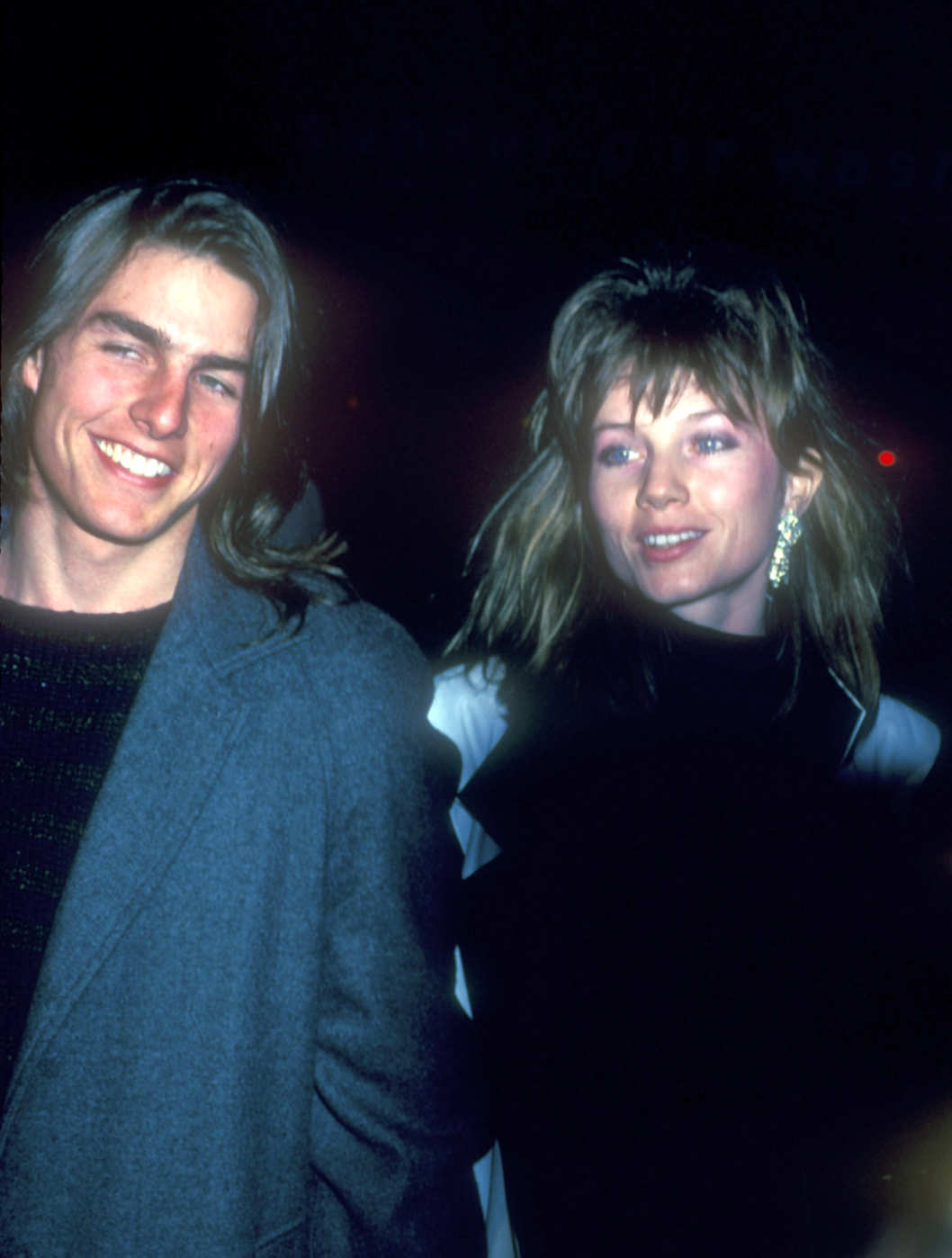 Tom Cruise & Rebecca DeMornay at the Directors Guild of America in Los Angeles, California (Photo by Barry King/WireImage)